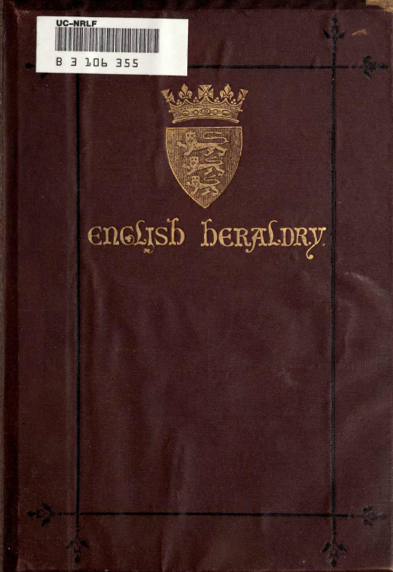 English heraldry by Charles Boutell 1867 г.
