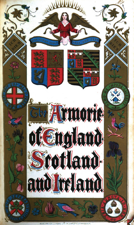 Encyclopedia of heraldry or general armory of England, Scotland, and Ireland by John Burke