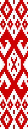 Белорусский орнамент на флаге