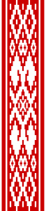 Орнамент на флаге с 1951 пр 1991 годы