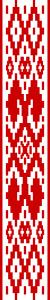 Орнамент на флаге Беларуси с 1995 по 2012 годы