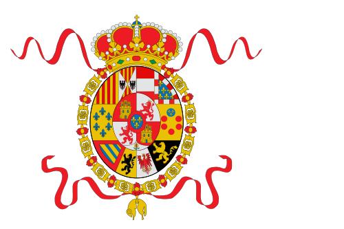 Флаг Испании с 1748 по 1785 годы