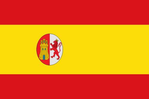 Флаг Испании с 1873 по 1874 годы
