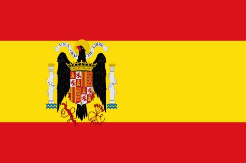 Флаг Испании с 1938 по 1945 годы