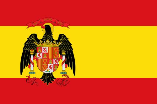 Флаг Испании с 1977 по 1981 годы